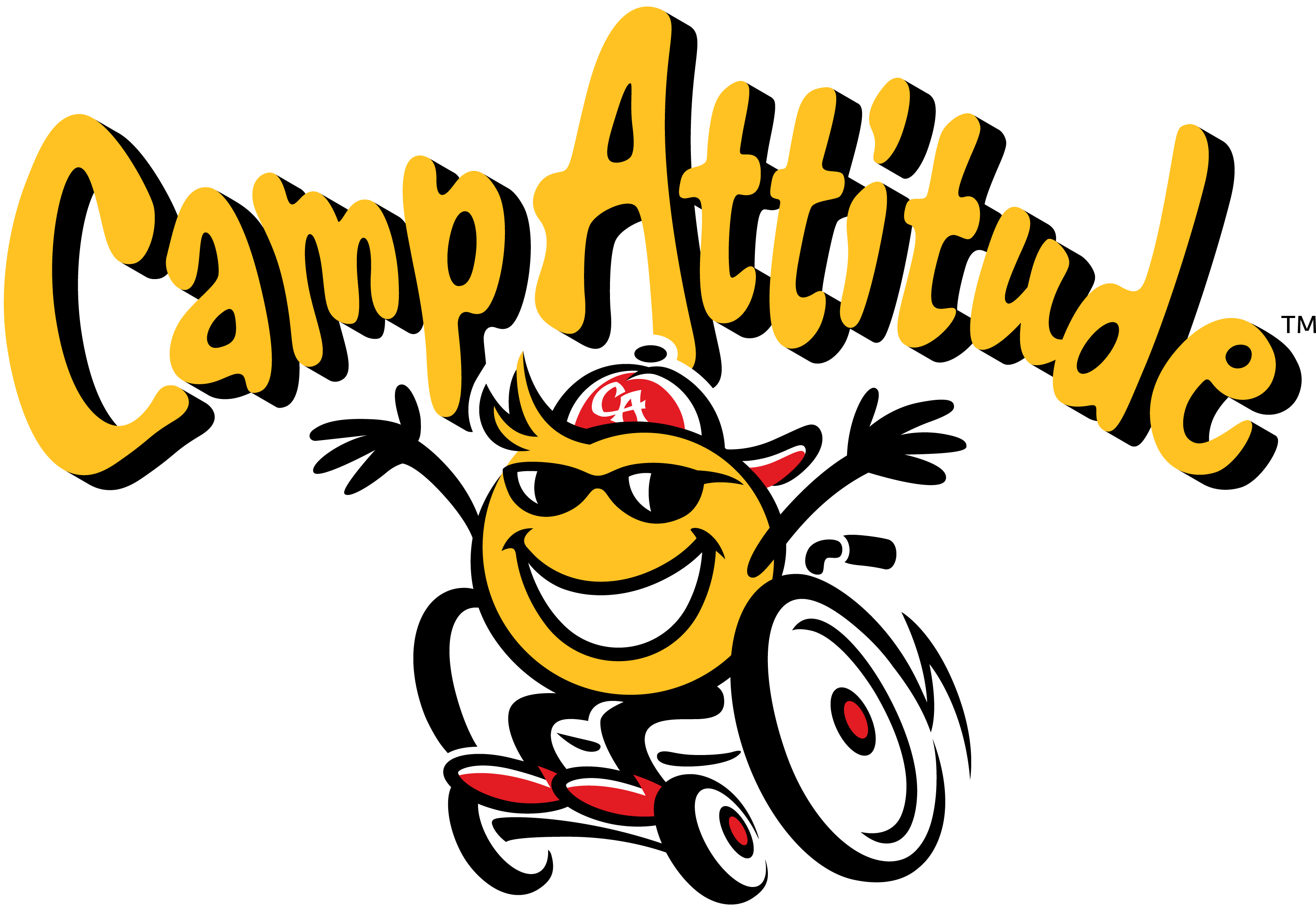 9A Camp Attitude Arched Type with Mascot